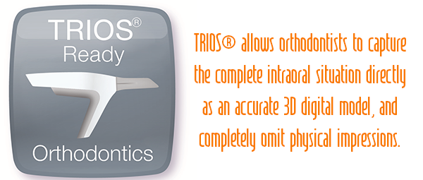 Digital Orthodontics is a TRIOS ready lab